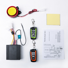 12V Car Security Alarm System Motorcycle Bike Scooter Remote Control Anti-theft