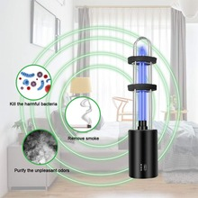 Household UV Disinfection Lamp Portable UV Light 5V Rechargeable Battery UVC Sterilization Lamp Ultraviolet Ozone