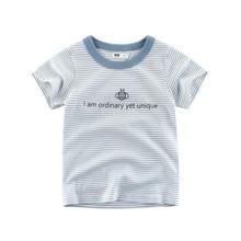 цены IENENS Summer Baby Boys T-shirt Clothes Children Boy Casual Cotton Short Sleeve Tops Fashion Children Boy T-shirt Clothing