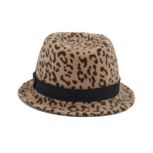 Cowboy Hats For Women Spring And Autumn New Fashion Wild Style Leopard Narrow Side Casual Comfortable Beach Cowgirl Female
