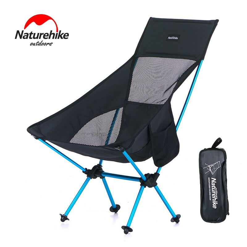 Naturehike leve pesados dobrar acima da cadeira de piquenique de pesca portátil ao ar livre dobrável cadeira de acampamento cadeira dobrável cadeira de praia