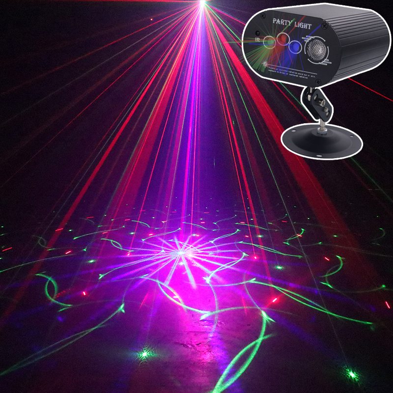 Stage Disco Light Laser Projector RGB Led Party Lights|Stage Lighting Effect| |  - title=