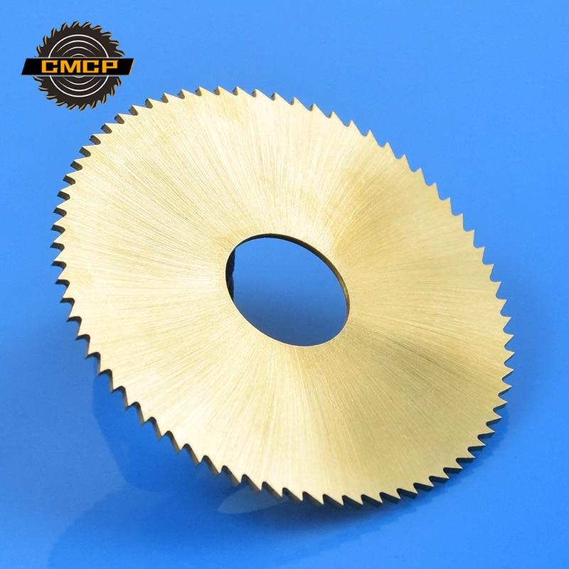 1pc Diameter 75mm 72T Key Machine Circular Saw Blade Key Cutter Blade  Metal Slitting Saw Blade