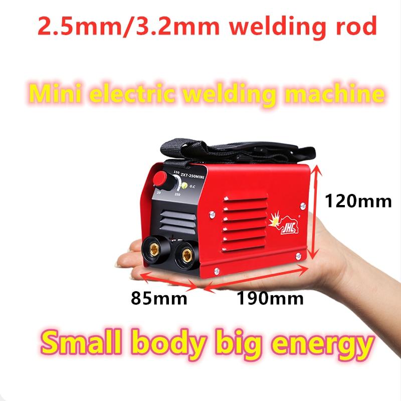 6000W Electric Welding Stick Welder ZX7-250 220V Mini Inverter Arc MMA Force LCD