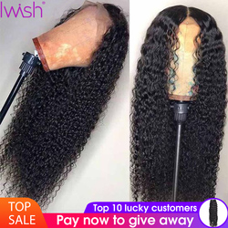 Deep Wave Wig Glueless Lace Front Human Hair Wigs Pre Plucked For Black Women Malaysian Remy Wig Natural Hair 13x4 Frontal Wig