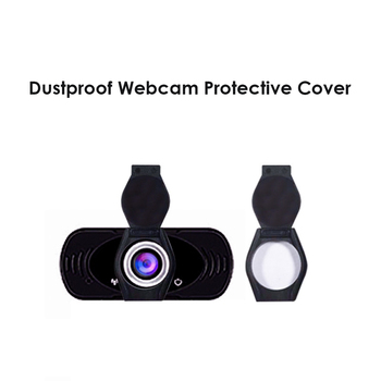 Privacy Shutter Lens Cap Hood Protective Cover for Logitech HD Pro Webcam C920 C922 C930e Protects Lens Cover Accessories image