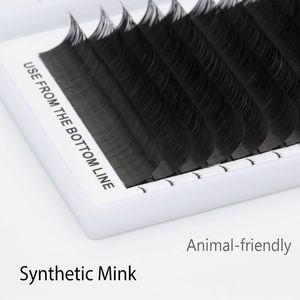 Image 5 - 6 qualität wimpern extensions tablett gefälschte nerz einzel wimpern größe der einzelnen wimpern weichen, natürlichen wimpern