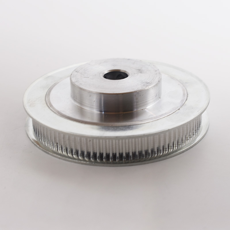 Aluminum Alloy HTD 3M Type 80T <font><b>80</b></font> Teeth 8/10/<font><b>12</b></font>/15/20mm Inner Bore 3mm Pitch 11 Belt Width Synchronous Timing Belt Pulley image