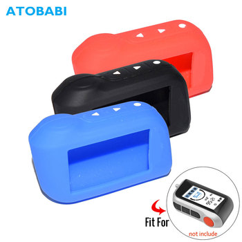 A93 Silicone Key Case For Starline A63 A39 A36 A66 A96 2-Way Car Alarm LCD Remote Control Transmitter Silica Gel Keychain Cover - discount item  32% OFF Interior Accessories