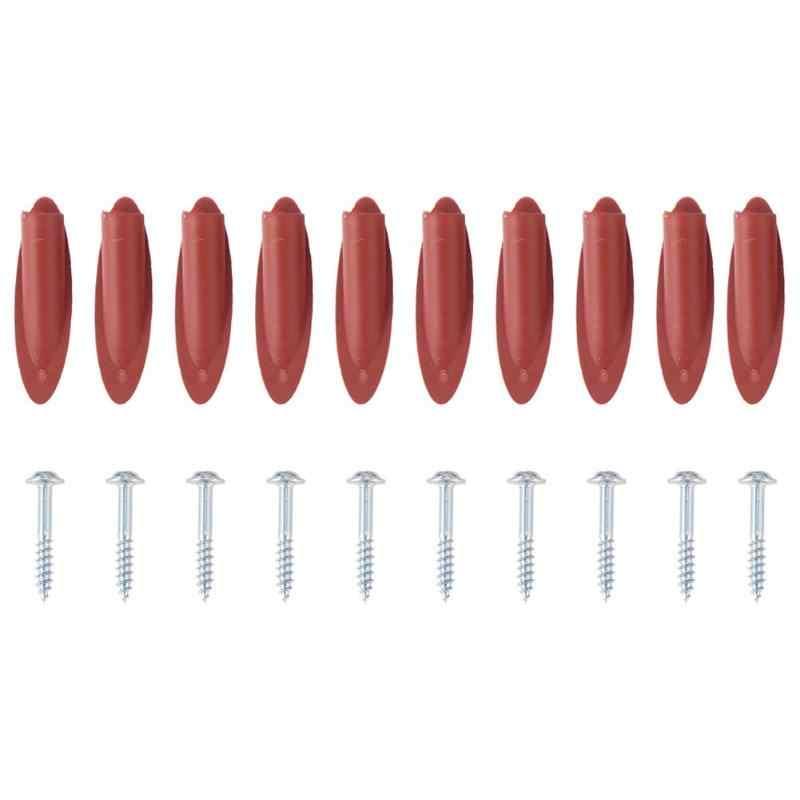 10 pièces/ensemble Oblique trou localisateur forage Guide trou gabarit Kit bouchon bouchons + vis