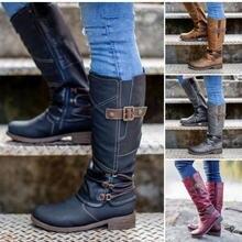 Женские замшевые ботфорты зимние высокие сапоги выше колена