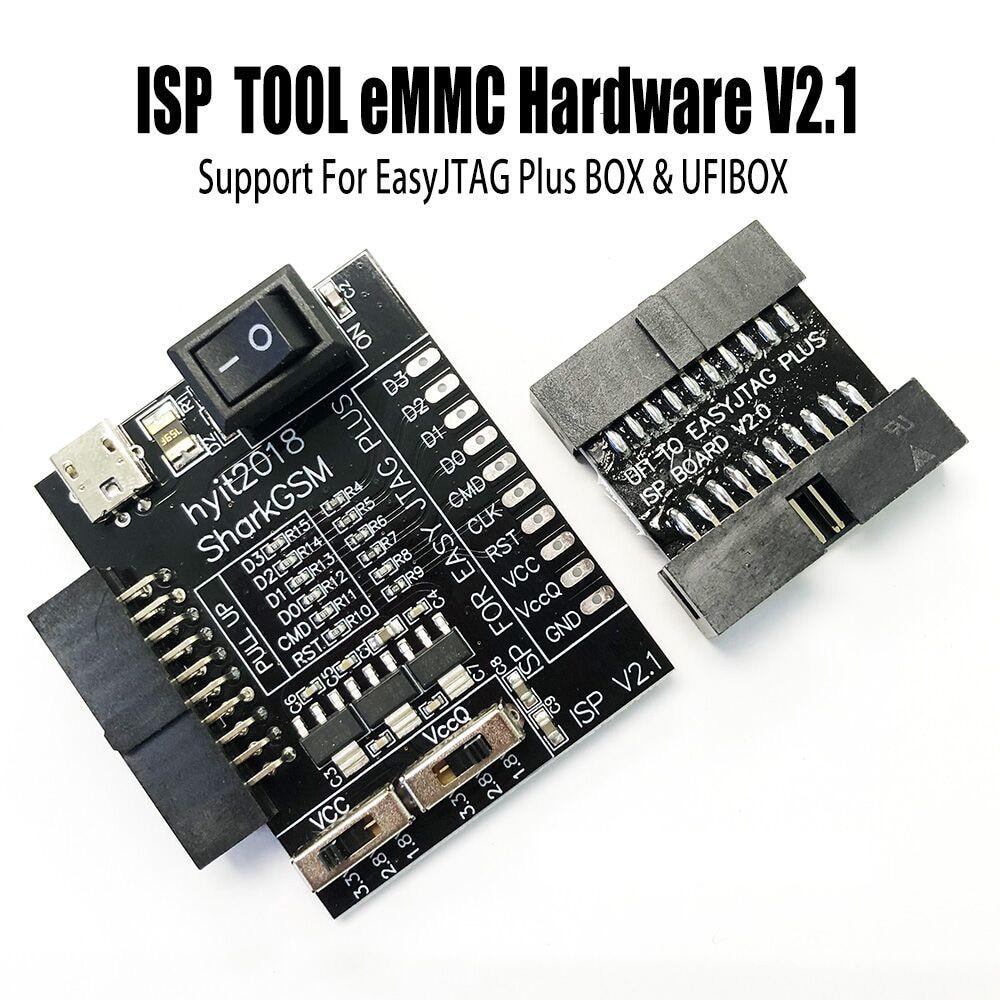 ISP инструмент eMMC аппаратные средства для Z3X легкий Jtag Plus Box и FUI Box