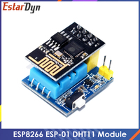 ESP8266 ESP-01 ESP-01S DHT11 Temperatur Feuchtigkeit Sensor Modul sp8266 Wifi NodeMCU Smart Home IOT DIY Kit
