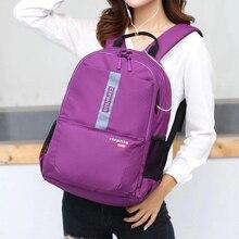 Женский водонепроницаемый рюкзак для ноутбука 15,6 дюйма с несколькими карманами