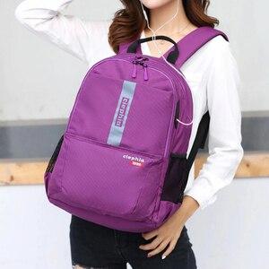 """Image 1 - Ciephia עמיד למים תרמיל בית ספר נשים ילדה מקרית נסיעות גדול קיבולת 15.6 """"תרמילי מחשב נייד עבור Teen רב כיס"""