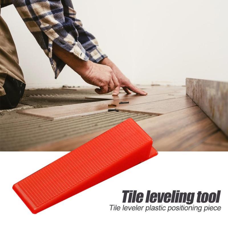 100pcs/set Wear-resistant Tile Leveling Wedges Tile Wear-resisting Withstand Voltage Spacers For Flooring Leveler Locator