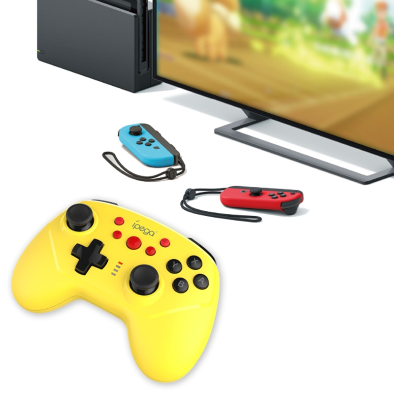 Ipega Switch Wireless Game Controller Ns Host Bluetooth Dual Vibration Handles Connected Wired And Wireless Dual Connection