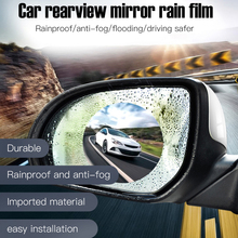 Oppselve 2Pcs Car Mirror Protective Film HD All round No Blind Spots Rainproof and Anti Fog Vehicle Rearview Sticker