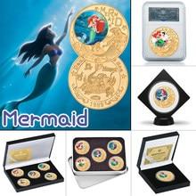 WR – pièce de monnaie classique de dessin animé américain plaqué or, à collectionner avec pièce de monnaie de dessin animé américain, cadeaux souvenirs originaux