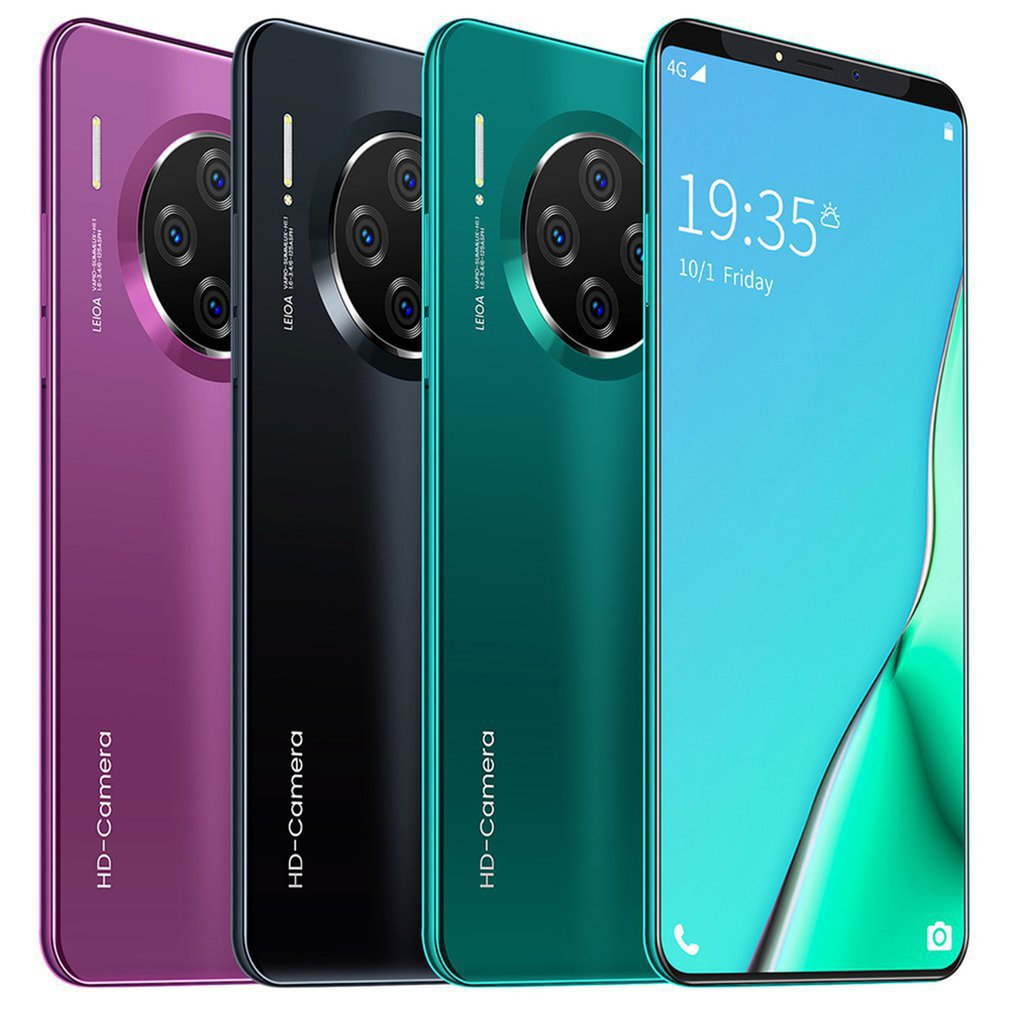 Mobile Phone Android 6.1 Inch Smartphone For Mate33 Pro HD Full Screen Dual SIM Phone 8 Cores With 32 Million HD Pixels