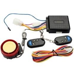 Off-motocykl szosoway akcesoria ATV uniwersalny 12V Anti-Theft Alarm dwóch sposób-przycisk Start z przedłużaczem
