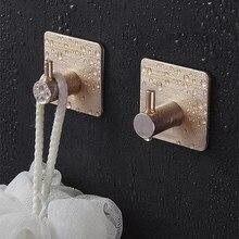 Gancho de aço inoxidável do revestimento do gancho da parede do gancho da veste gancho de toalha do gancho da parede do preto para o banheiro