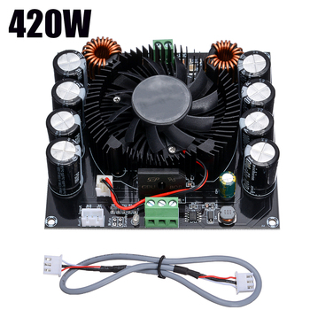 цена на TDA8954TH Large Power Digital Audio Amplifier Board 420W Subwoofer Board Sound Amplifier Audio for Stereo Speaker
