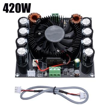 TDA8954TH Large Power Digital Audio Amplifier Board 420W Subwoofer Board Sound Amplifier Audio for Stereo Speaker цена 2017