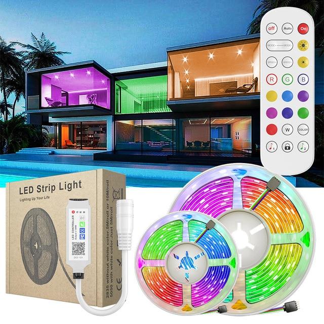 LED Strip Light RGB 5050 SMD Set 4