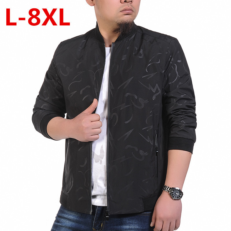 new plus size  9XL 8XL 7XL Jacket trench coat  Men Clothes Trend College Slim Fit High-Quality Casual Mens Jackets And Coats