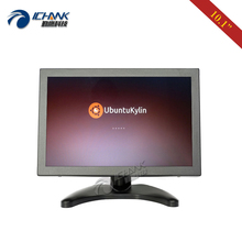 ZB101TC-V59L/10.1 inch 1280x800 HDMI VGA Signal Support Linux Ubuntu OS Metal Shell Industrial Touch Monitor LCD Screen Display vga hdmi av tv interface 15 inch metal shell non touch open frame industrial and household use lcd monitor display