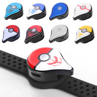 Bluetooth Automatic Remind Catch Wristband USB Charging Smart Bracelet for Nintendo Switch Pokemon Go Plus Games LED Watch Toy