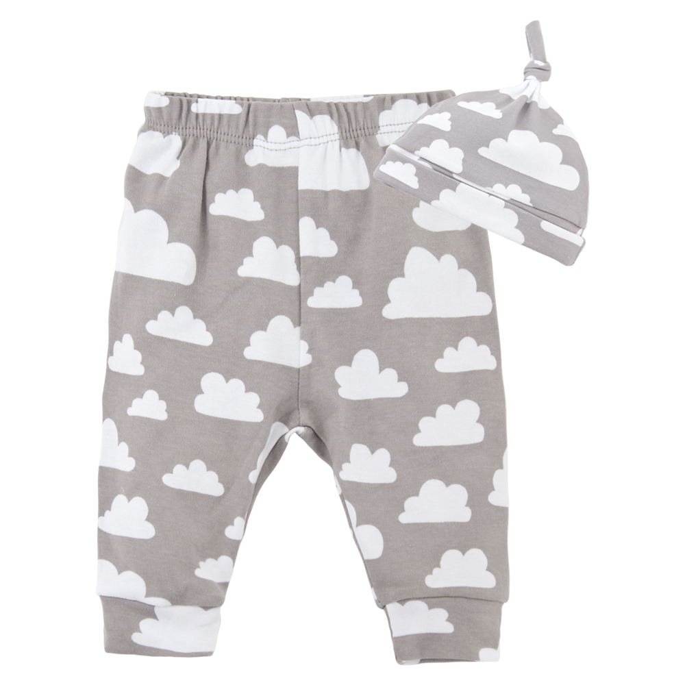 Baby Boys Long Pants Autumn Winter Long Pants Infant Girls Long Pants Newborn Pants Warm Soft Baby Hat Cap Print Baby Boys Girls
