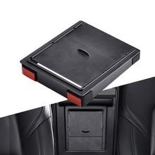 Storger для Tesla модель 3 ящик для хранения в подлокотнике автомобиля Органайзер контейнеры прозрачный скрытый Держатель Замена Коробки