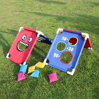 Classic Kids Games Throwing Sandbag Kindergarten Parent child Outdoor Fun Sports Toy Sense Training Concentration Game
