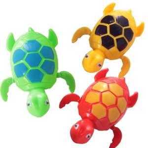 Toys Bathing-Bath-Toy Water-Toy Swim Clockwork Turtle-Animals Kids Chain Newborn on
