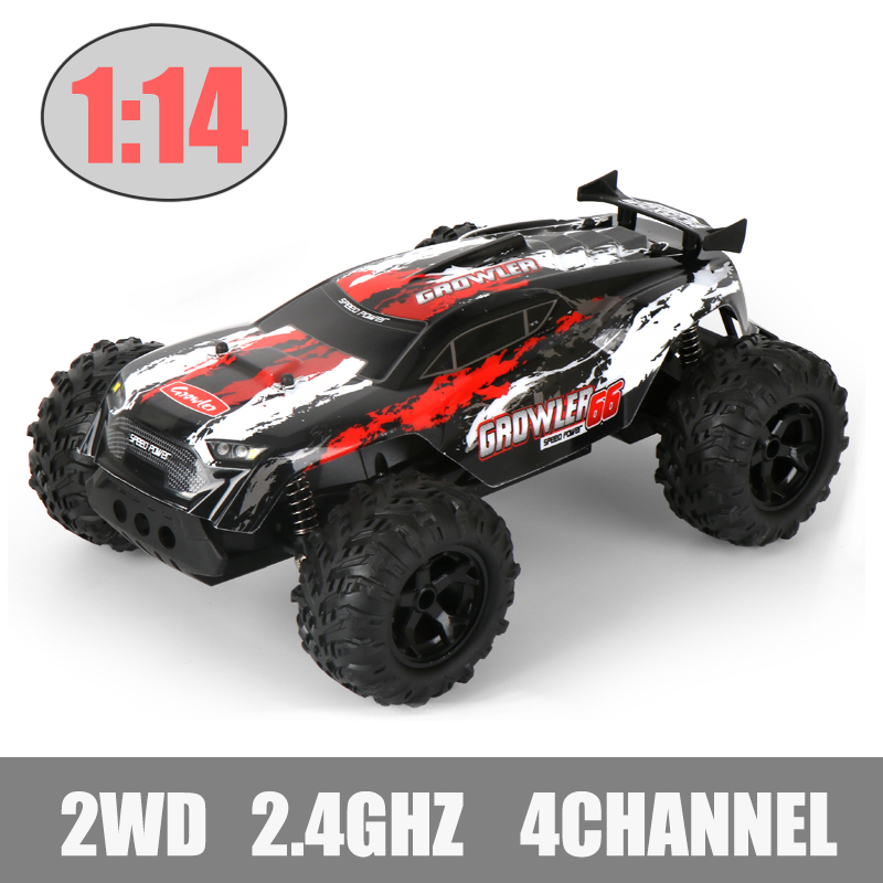 1:14, 4 канала, 2,4 г, рок-сканеры, вождение автомобиля, Бигфут, автомобиль с дистанционным управлением, модель автомобиля, внедорожник, игрушки, ...