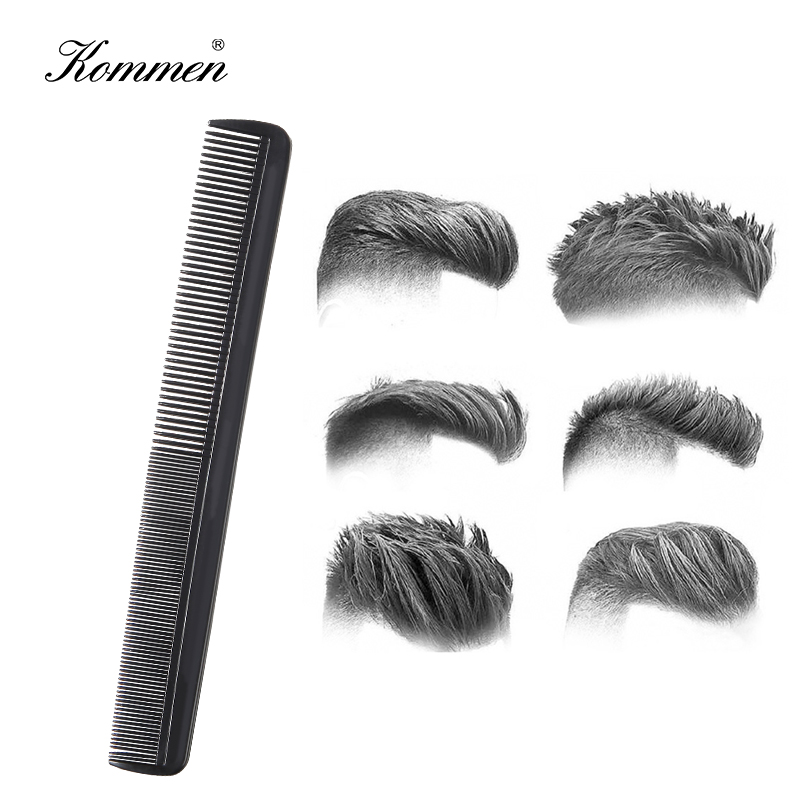 Black Barber Accessories Hot Comb Hair Care Styling Tool Hairdressing For Men&Women Professional Hair Brush High Density