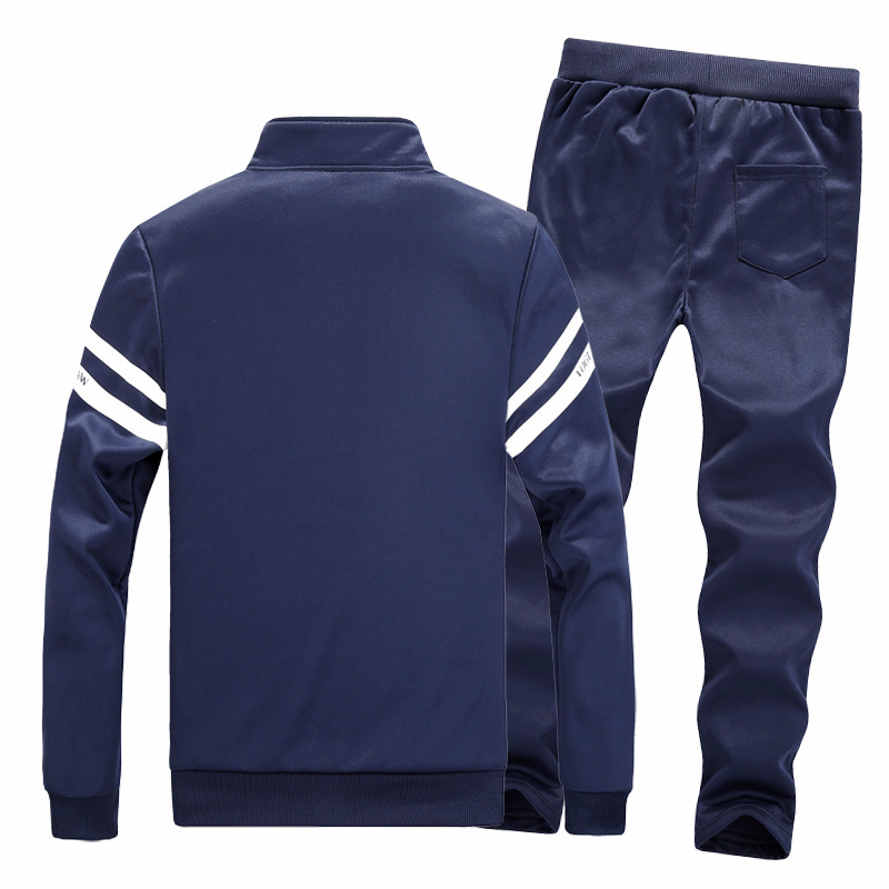 Spring And Autumn New Style Teenager Fashion Set Students Leisure Sports Suit Baseball Uniform