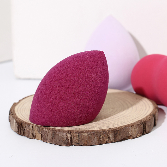 1Pc Cosmetic Puff Powder Puff Smooth Women's Makeup Foundation Sponge Beauty To Make Up Tools Accessories Water-drop Shape 4