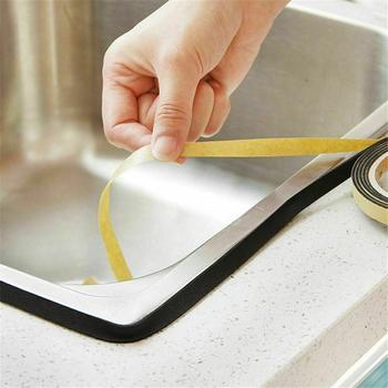 Kuchnia wodoodporna kuchenka gazowa Gap uszczelniająca taśma klejąca mold Proof taśma zlew kuchnia wanna taśma uszczelniająca taśma samoprzylepna tanie i dobre opinie CN (pochodzenie) do licowania płytkami Moldproof tape Taśma Maskująca Polyethylene LengthxWidth 200x1cm 78 7x0 4in