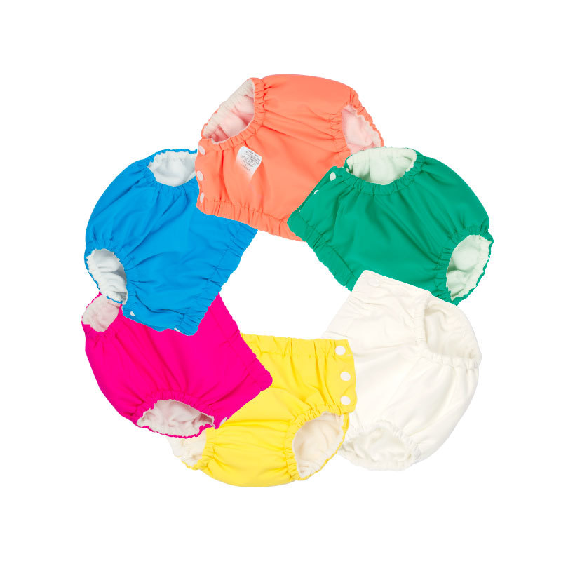 BABY'S Swimming Trunks Diaper Pants Washable Pocket Urine Learn Swimming Trunks Kids Training Pants Swimming Pool Baby Swimming