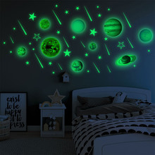 Get more info on the Luminous Planets PVC Wall Stickers Glow In Dark Ten Planets Bedroom Wall Decal