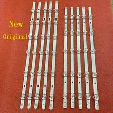 10pcs tira conduzida Luz de Fundo original para LG 55LB650v 55LB5900 55LF652V 55LF6000 55LB6000 55LF5950 55LB630V 55LF580V 55LB570V