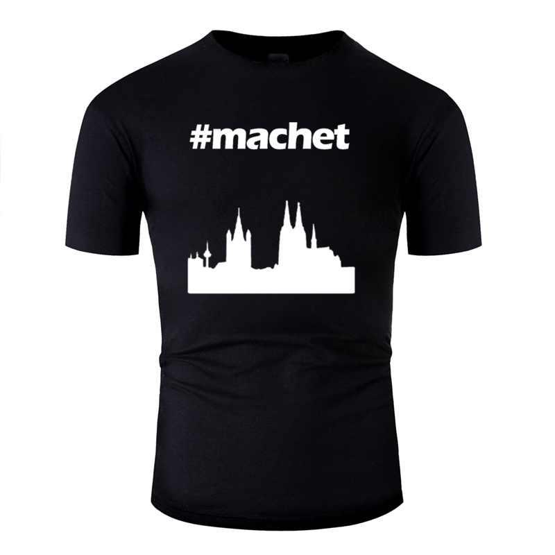 Nowy Casual # Machet T-Shirt dla kobiet 100% bawełna niesamowite mężczyźni i kobiety t-shirty O Neck panowie 2020 duży rozmiar 3xl 4xl 5xl