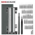 Набор прецизионных отверток NEWACALOX  50 шт.  Магнитная отвертка  ручные инструменты для телефона 11/часов/ноутбука  набор инструментов для ремон...