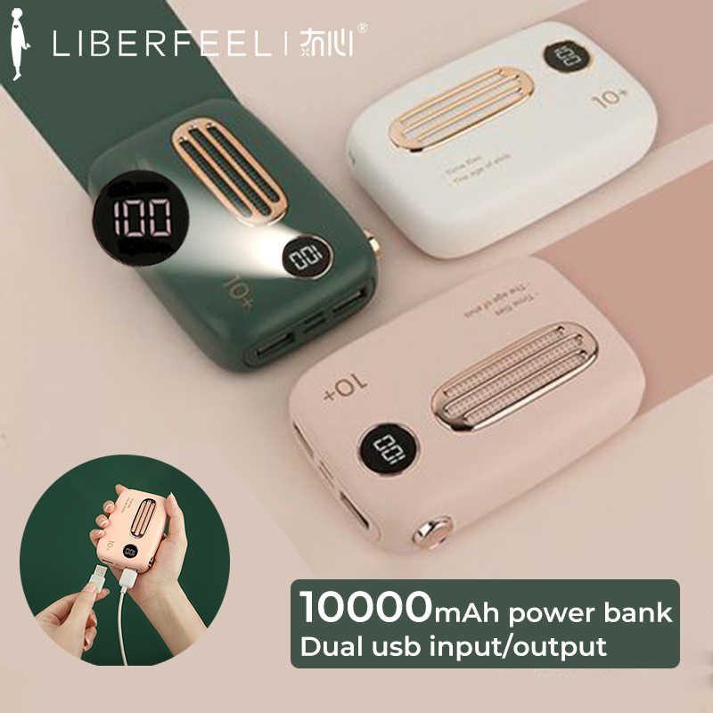 Liberfeel Maoxin power bank lindo bateria externa movil power bank mini Pantalla digital bateria portatil cargador portatil baterias externa para movil regalos del dia de las madres