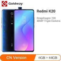 Global ROM Xiaomi Redmi K20 6GB 64GB Smartphone Snapdragon 730 Octa Core 48MP Rear Camera 4000mAh In Screen Recognition