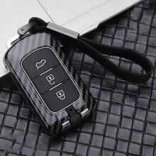 Новый Лидер продаж цинковый сплав + силиконовый чехол для ключей