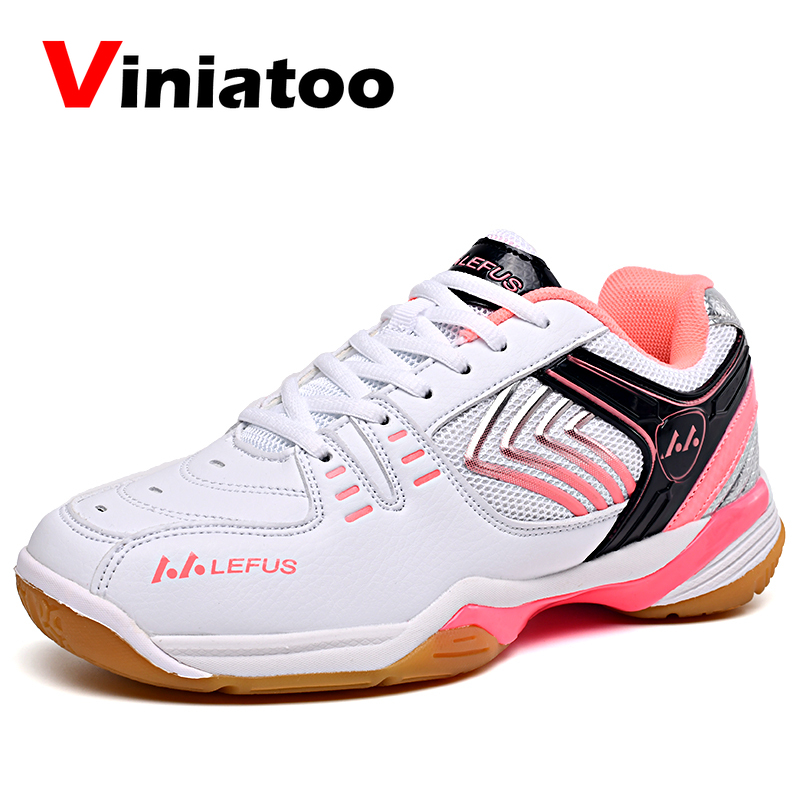 Badminton Shoes For Women Brand Professional Badminton Trainers Shoes White Women Anti Slip Athletic Volleyball Sneakers New